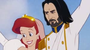 Artist Reimagines Keanu Reeves As All The Disney Princes And It's Perfection