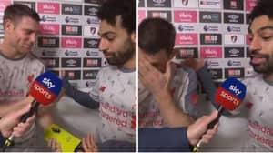Mo Salah Refuses Man Of The Match Award, Gives It To James Milner