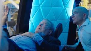 Star Trek Captain William Shatner Blasted Into Space Aboard Blue Origin Capsule