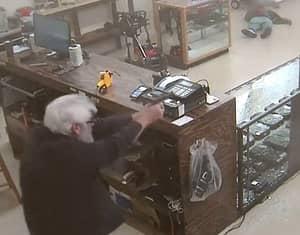 Gun Shop Owner Shoots Armed Robber Dead