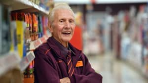 UK's Oldest Supermarket Employee Is Retiring At The Age Of 95