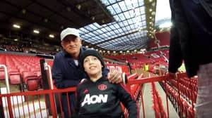 Jose Mourinho Spent 10 Minutes With Disabled Fans After U23 Game