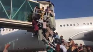 Thousands Storm Kabul Airport In Desperate Attempt To Flee Afghanistan