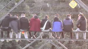 Police Called After Large Group Of Teenagers Hold Illegal Gathering On Pylon