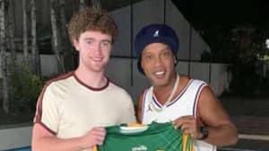 Irish Bloke Befriends Ronaldinho And Visits His Brazil Home