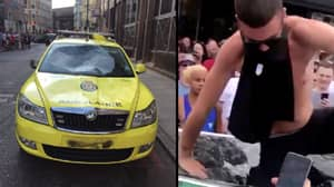 England Fans Set Up Fundraisers For Taxi And Ambulance Damaged In Celebrations
