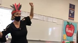 Teacher Placed On Leave After Performing Native American Dance In Classroom