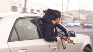 Woman Seen Leaning Out Of Car With AK-47 In San Francisco