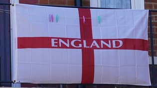 England Fan Threatened After Plastering Home With St George's Cross Flags