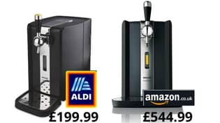 Aldi's Philips Perfect Draft Machine Goes On Sale This Weekend - And It's £350 Cheaper Than Amazon
