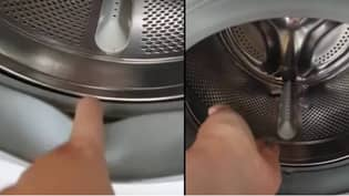 Woman Demonstrates How Dirty Your Washing Machine Could Be
