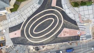 New Oval-Shaped UK Roundabout Branded 'Bizarre' And 'Dangerous'