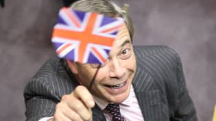 Nigel Farage Pranked Into Wishing Happy Birthday To 'Huge Anus'
