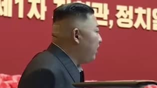 Kim Jong-Un Spotted With Plaster And Dark Mark On His Head