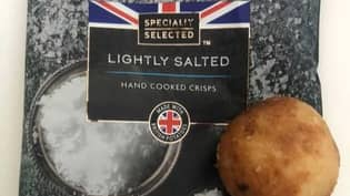 Woman Shocked To Find Entire Potato In A Packet Of Aldi Crisps