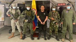Colombia's Biggest Drug Trafficker Since Pablo Escobar Captured By Authorities