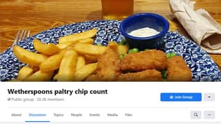 Facebook Group That Keeps Track Of Wetherspoon Chip Portions Goes Viral
