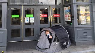 People Have Been Camping Outside Pubs Ahead Of Reopening Today