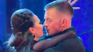 Adam Peaty's Girlfriend Reacts To Him 'Almost Kissing' Dance Partner