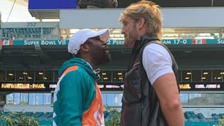 Floyd Mayweather Says 'I'll Kill You Motherf**ker' To Logan Paul Ahead Of Boxing Match