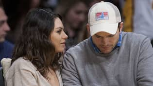 Mila Kunis And Ashton Kutcher Only Wash Kids When They See 'Dirt On Them'