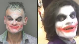 Man Impersonating The Joker Threatens To Kill People On Live Stream
