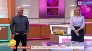 Piers Morgan Makes 'Coming Out' Joke To Phillip Schofield As Brits Stay Indoors During Coronavirus Outbreak