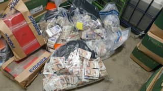 Police Find Almost £1 Million In Cash In Man's Home