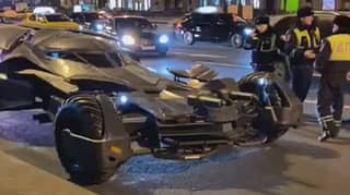 Fully Functional Batmobile Replica Seized By Police In Russia