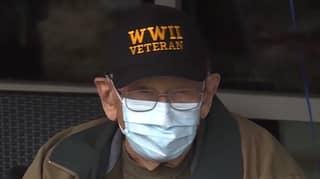 Second World War Veteran Celebrates 104th Birthday After Overcoming Coronavirus