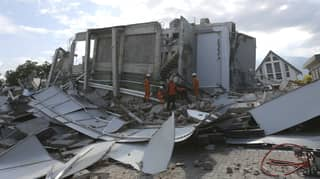 Huge Surge In Death Toll Following Indonesian Earthquake And Tsunami