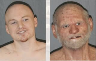 Fugitive Arrested After Four Months On The Run Wearing Old Man Mask
