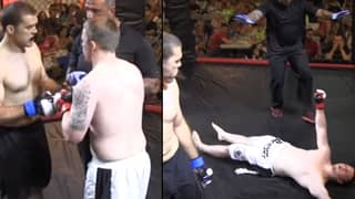 MMA Fighter Suffers Brutal Four-Second Knockout