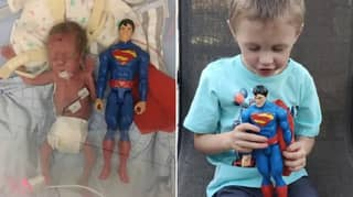 Prematurely Born Baby The Size Of Toy Superman Recovered And Growing Up