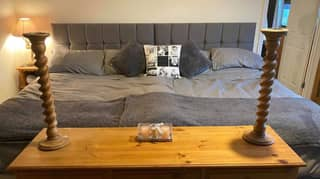 Mum Creates Nine-Foot-Long Bed For The Whole Family For Less Than £450