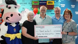 Lottery Winner Upholds 30-Year Promise To Split A Win With His Best Pal