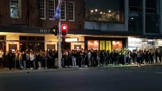 Sydney Pub Slammed For Allowing Dozens Of People To Line Up Without Social Distancing