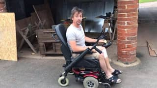 Richard Hammond Shows Off Customised Electric Wheelchair In New Video