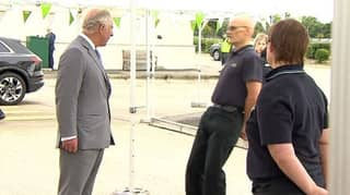 Asda Worker Faints While Chatting To Prince Charles