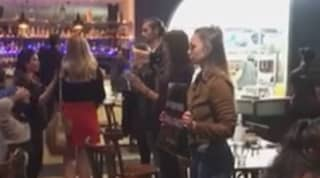 Group Of Vegan Protestors Storm Australian Restaurant And Yell At Diners