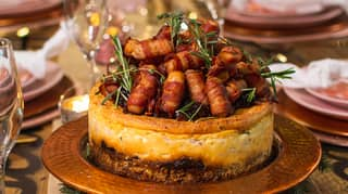 You Can Now Get A Pigs In Blankets Cheesecake