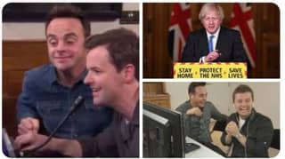 Ant And Dec Controlling Government Announcements Are The Memes We All Need