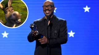 Eddie Murphy Reminds Critics' Choice Awards Of That Time He Played A Donkey