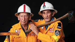 Lifelong Best Mates Honoured By NSW RFS For Protecting Their Community For 70 Years
