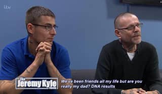 Man Discovers His Lifelong Friend Is Really His Father On Jeremy Kyle