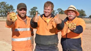 Aussie Family Unearth Two Massive Gold Nuggets Worth $350,000