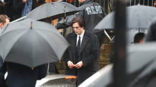 Robert Pattinson Pictured Filming The Batman For First Time
