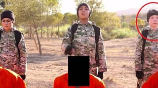 Horrific ISIS Video Shows 'British Boy' Executing Prisoners