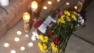 Students Hold Vigil In Remembrance Of Closed Down Taco Bell