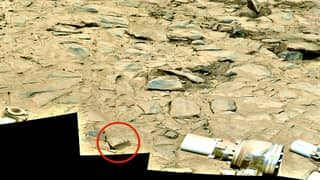 UFO Hunter Finds 'Old Bible' In NASA Photo Of Mars